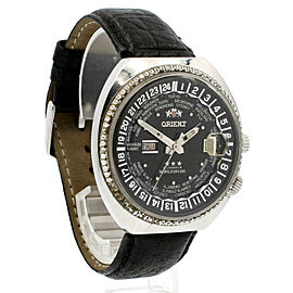 ORIENT WORLD DIVER 3 Star 21 Jewels Automatic Steel 44mm Vintage Men's Watch