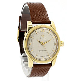 OMEGA Seamaster Gold Shell 34mm Automatic Bumper Men's Watch Ref: 2767-3SC