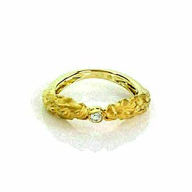 Carrera y Carrera Equestrian Double Horse Head Diamond 18k Yellow Gold Ring