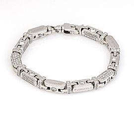 Jacob & Co. Diamond Capsule Fancy Link Bracelet in 18k White Gold