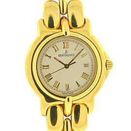 Bertolucci 18k Yellow Gold Pulchra 30mm Quartz Ladies Watch