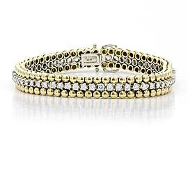H. Stern Caviar Link Diamond Bracelet in 18k Yellow Gold (2.00 ct tw)