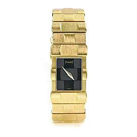 Piaget Polo 18k Yellow Gold Ladies Quartz Wrist Watch 15281