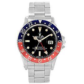Rolex GMT Master 16750 Vintage 40mm Mens Watch