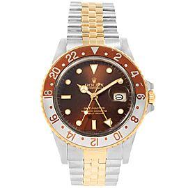 Rolex GMT Master 16753 Vintage 40mm Mens Watch