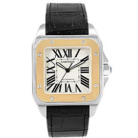 Cartier Santos W20072X7 38.0mm Mens Watch