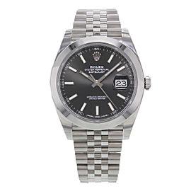 Rolex Datejust 126300 bkij 41mm Mens Watch
