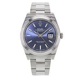 Rolex Datejust 126300 blio 41mm Mens Watch