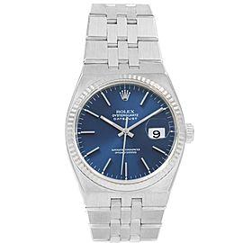 Rolex Oysterquartz Datejust 17014 36mm Mens Watch