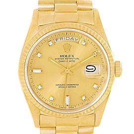 Rolex President Day Date 18038 Vintage 36mm Mens Watch