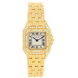 Cartier Panthere WF3072B9 22mm Womens Watch
