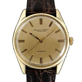 IWC Schaffhausen 810A Vintage 36mm Mens Watch