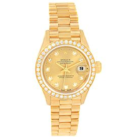 Rolex President Datejust 69138 26.0mm Womens Watch