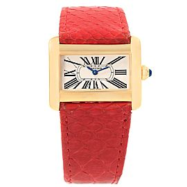 Cartier Tank W6300356 31.5mm Womens Watch
