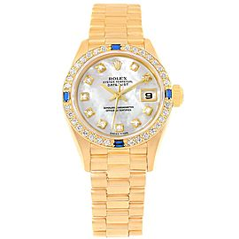 Rolex President Datejust 79088 26mm Womens Watch