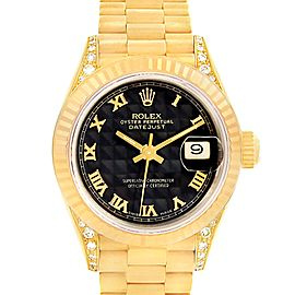 Rolex President Datejust 69158 26mm Womens Watch