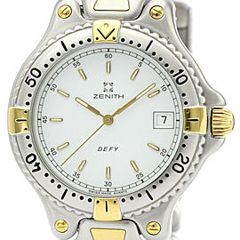 ZENITH Defy Gold Plated Steel Quartz Mens Watch 59.2000.337