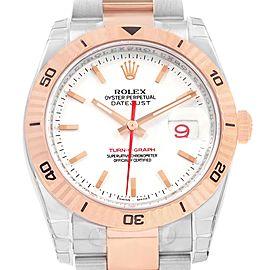 Rolex Turnograph Datejust 116261 36mm Mens Watch