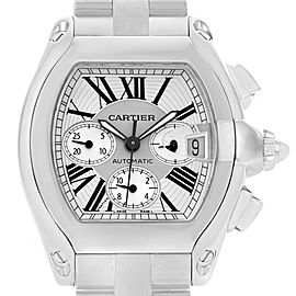 Cartier Roadster W62019X6 49mm Mens Watch