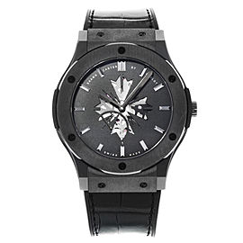 Hublot Classic Fusion Shawn Carter 515.CM.1040.LR.SHC13 Ceramic Hand Wind Watch