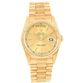 Rolex Day-Date President 18238 36mm Mens Watch