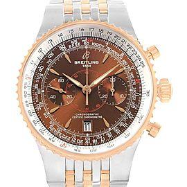 Breitling Montbrillant Legende Steel Rose Gold Mens Watch C23340