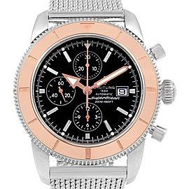 Breitling SuperOcean Heritage Chrono 46 Steel Rose Gold Watch U13320