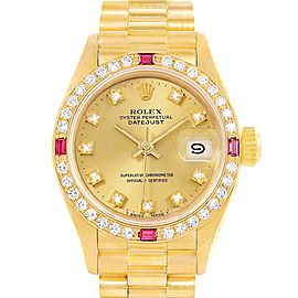 Rolex President Datejust 69068 26mm Womens Watch