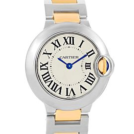 Cartier Ballon Blue W69007Z3 29mm Womens Watch
