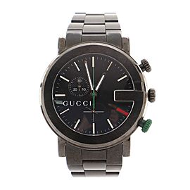 Gucci G-Chrono Quartz Watch PVD Stainless Steel 44