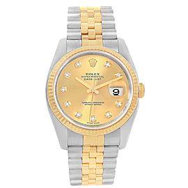 Rolex Diamond 116233 36.0mm Mens Watch