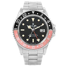 Rolex GMT Master Fat Lady Vintage Coke Bezel 16710 40.0mm Womens Watch