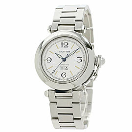 CARTIER Stainless Steel/Stainless Steel Pasha C Big Date Watch