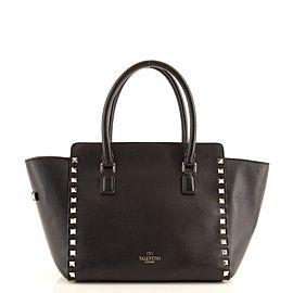Valentino Rockstud Tote Rigid Leather Small