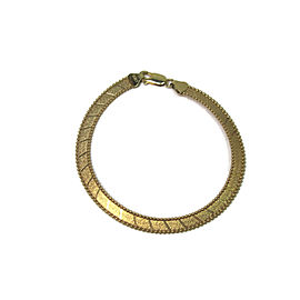 14K Yellow Italian Gold Bracelet