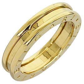 Bulgari 18K Yellow Gold B Zero One Single Band Ring