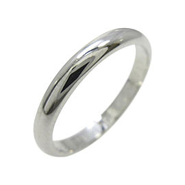 Cartier PT 950 Platinum Wedding Ring Size: 3.75