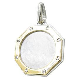 Cartier 18K Yellow Gold Hexagonal Pendant