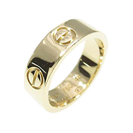 Cartier 18K Yellow Gold Love Ring Size: 5.5
