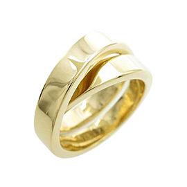 Cartier 18K Yellow Gold Paris Ring Size 9