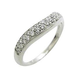 Bulgari 950 Platinum Corona Ring