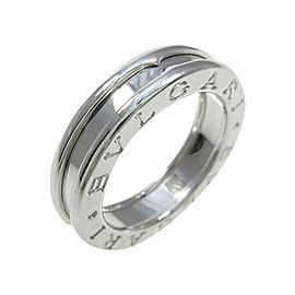 Bulgari B zero1 750 White Gold Band Ring