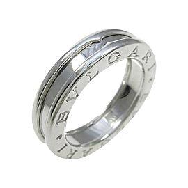 Bulgari B zero1 750 White Gold Band Ring