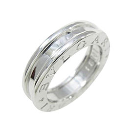 Bulgari B zero1 1 750 White Gold Band Ring