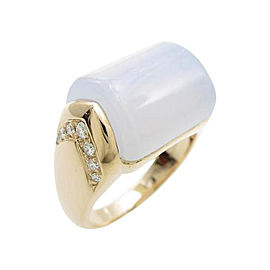 Bulgari 750 Pink Gold Muza Ring
