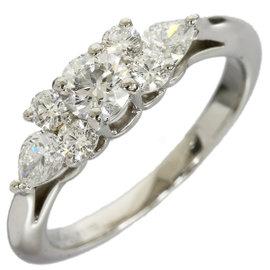 Tiffany & Co. Pt950 Platinum Diamond Ring