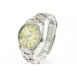 Rolex Oyster Perpetual Date 1501 Stainless Steel 35mm Watch