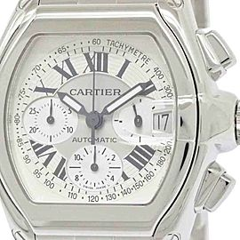 Cartier Roadster Chronograph Stainless Steel Automatic 42mm Watch
