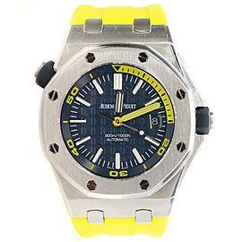 UNWORN Audemars Piguet Royal Oak Offshore Diver Blue Dial Watch