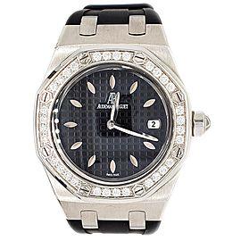 Audemars Piguet Royal Oak Lady 33mm Factory Diamond Bezel Stainless Steel Watch 67601ST.ZZ.D002CR.01